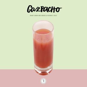 receita de gazpacho zest