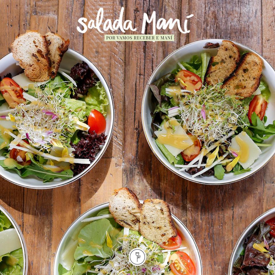 receita de salada mani