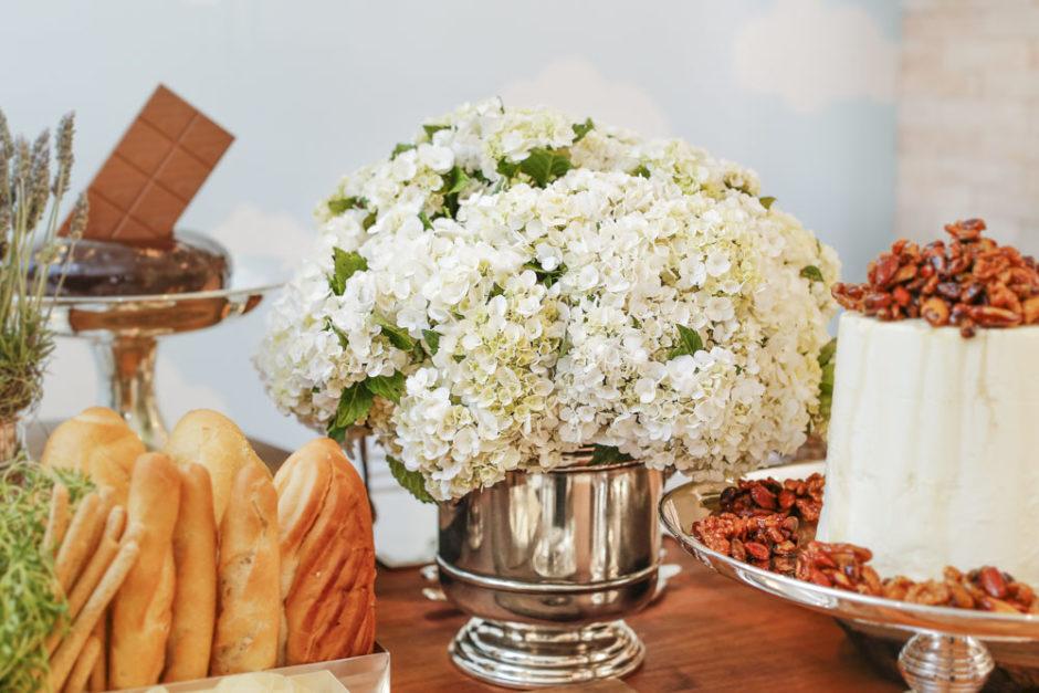 hortensias brancas