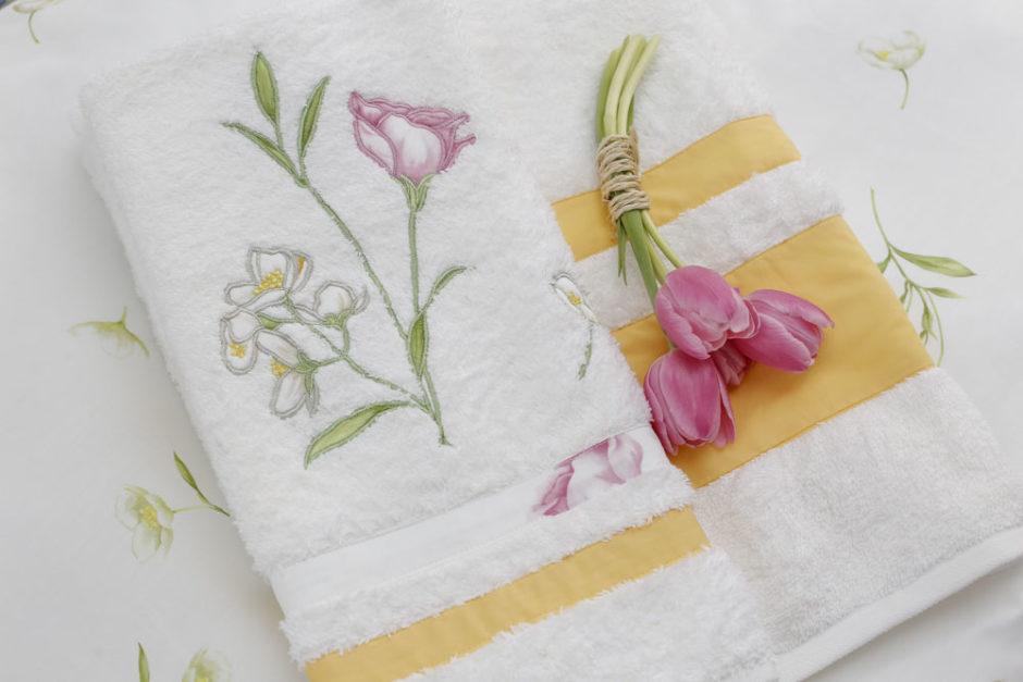 conjunto de toalha campo di fiori