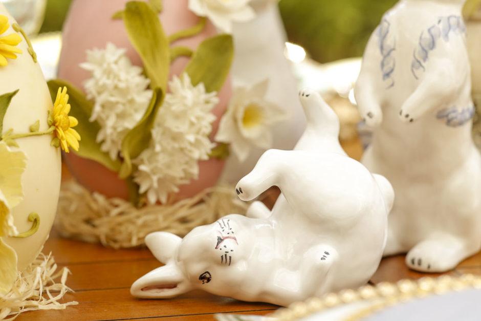 coelho decorativo couvert