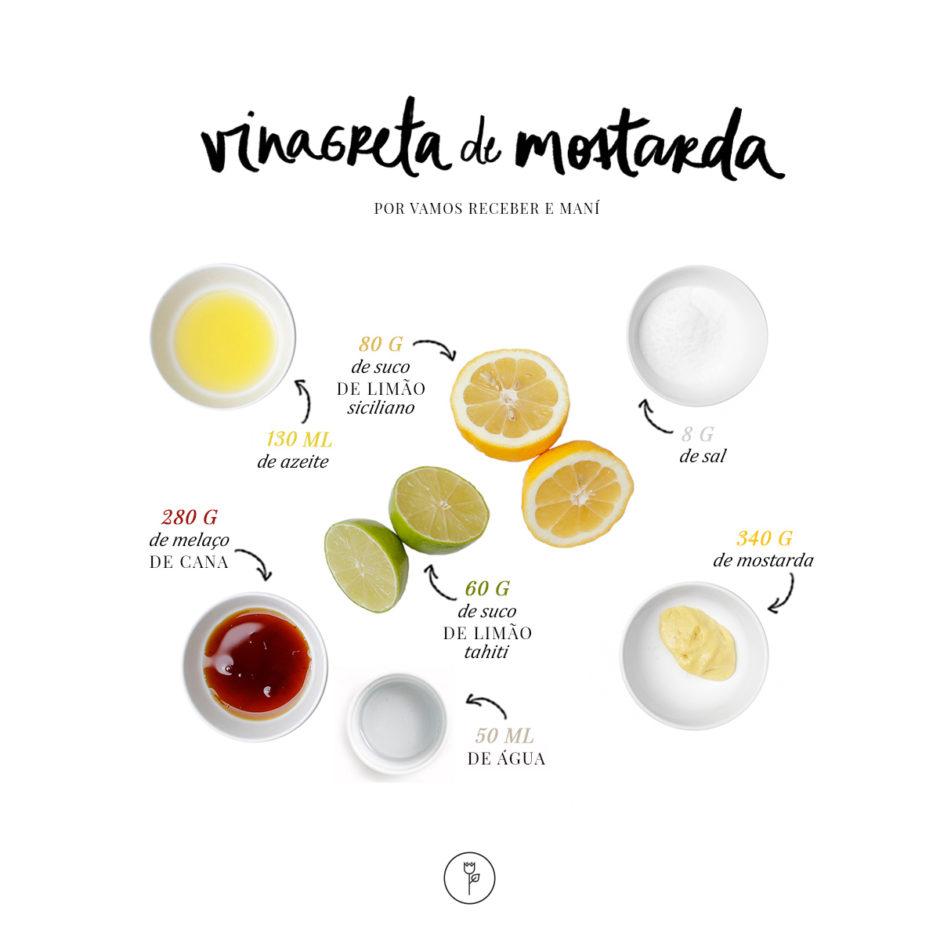 receita de molho vinagrete