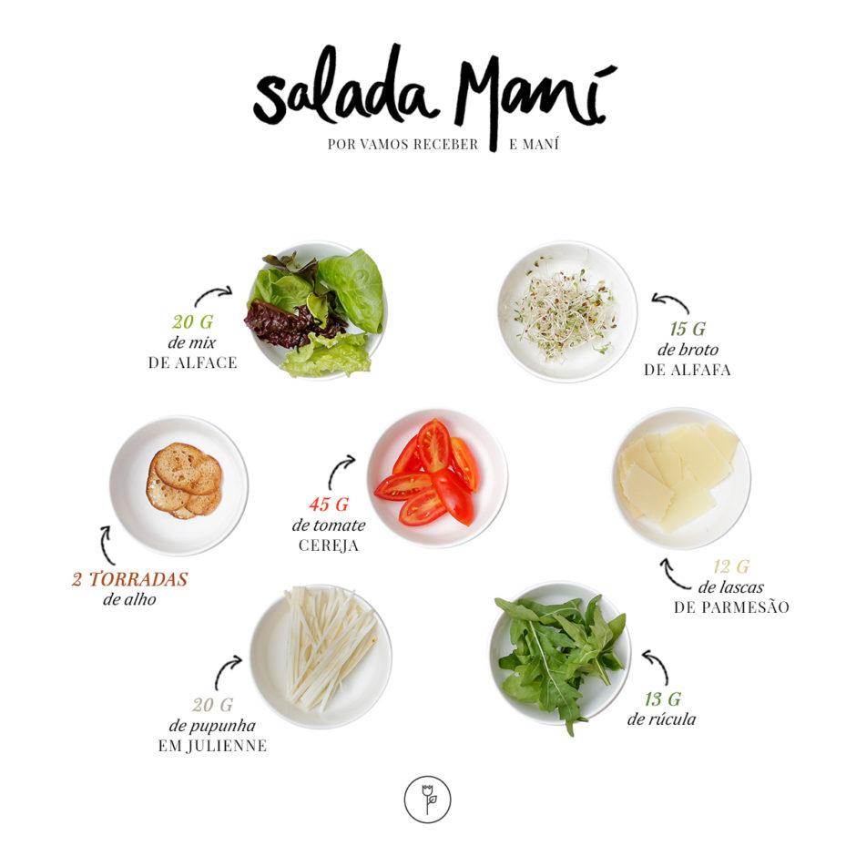 receita e ingredientes salada mani