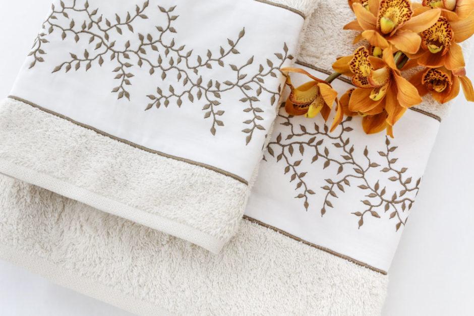 toalhas creme valencien