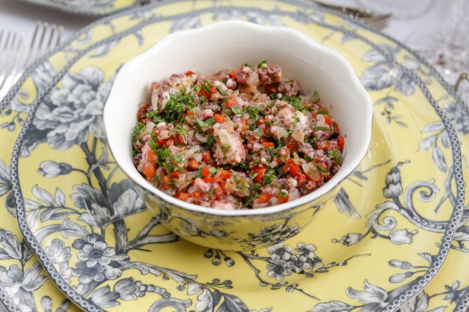 Salada de Polvo Vila de Sintra para jantar português