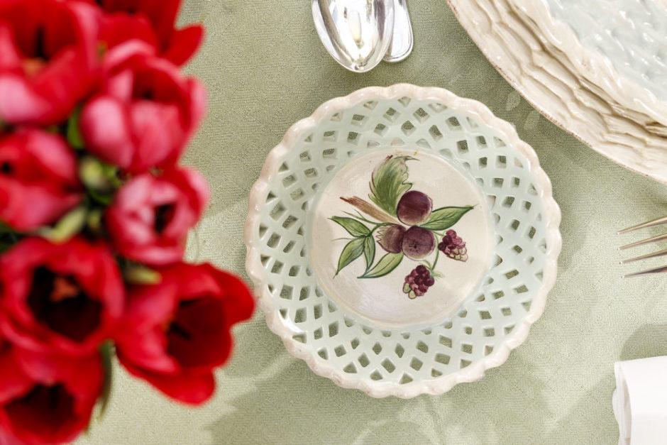cesta de cerâmica