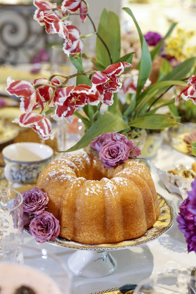 bolo de mexerica com cachaça da Marie Marie Bakery