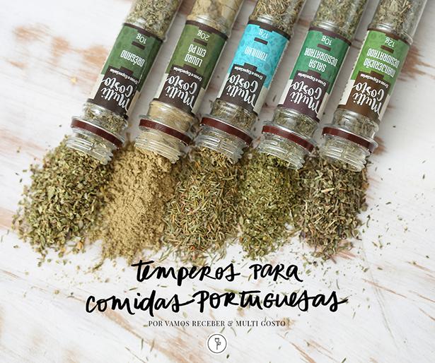 para temperar comida portuguesa