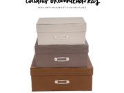 caixas organizadoras elegantes viver organizer