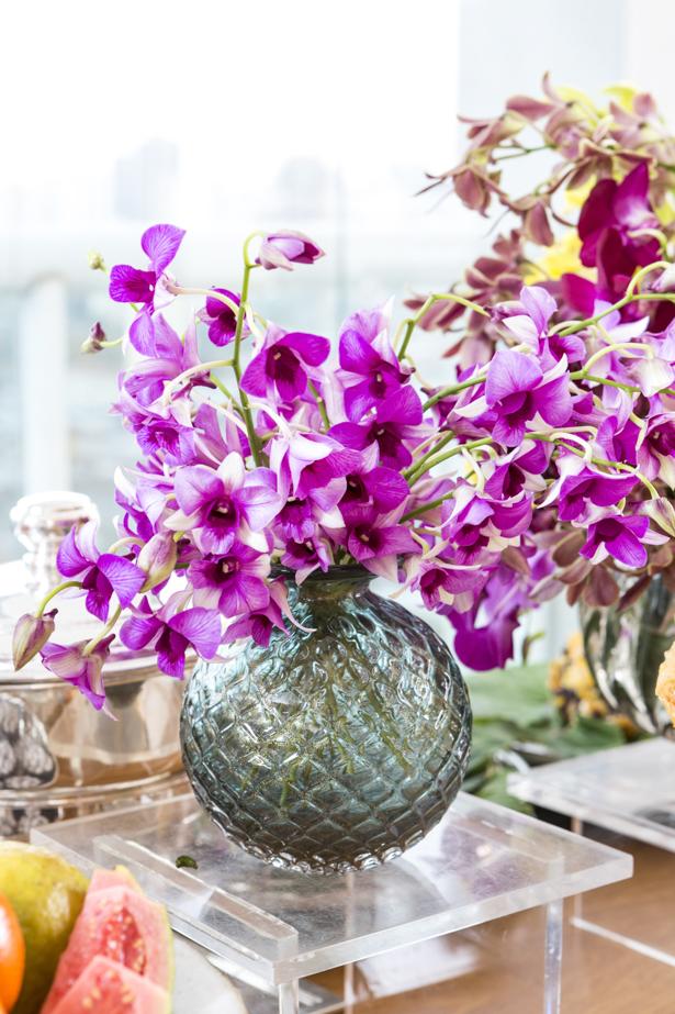 orquídeas em Muranos Theodora Home