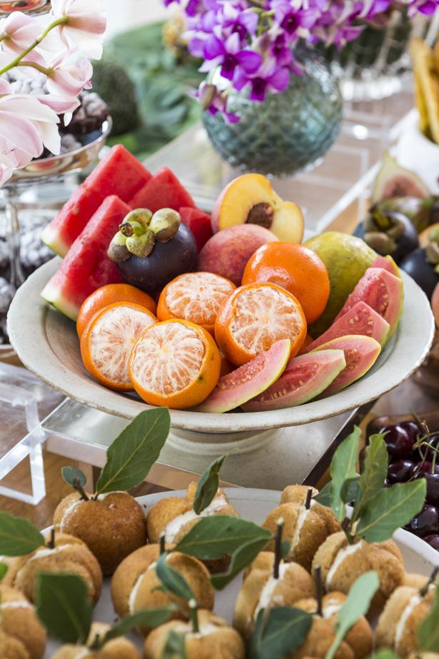 como servir frutas de forma charmosa