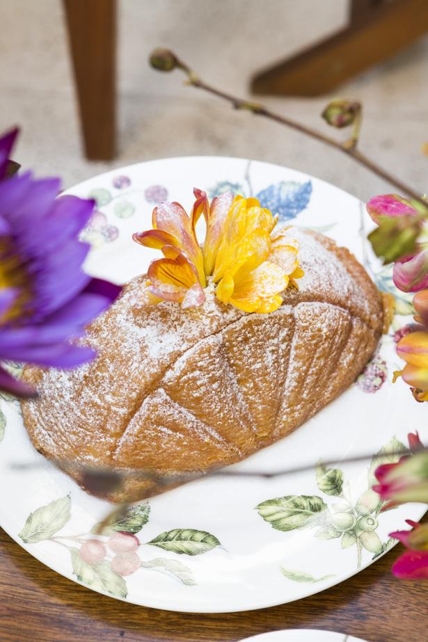 bolo de laranja Marie Marie Bakery