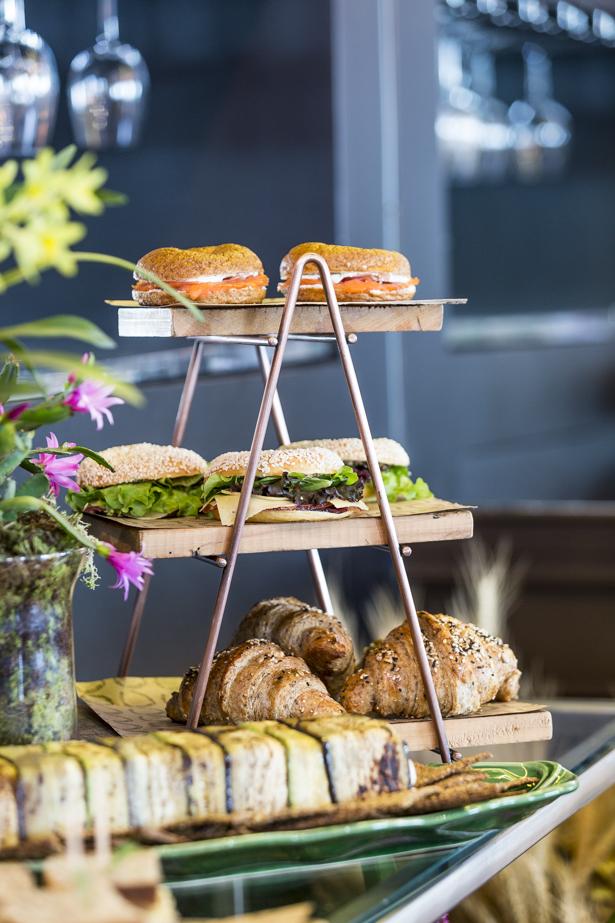 pães artesanais Marie Marie Bakery para servir no brunch