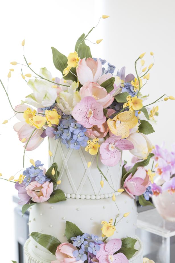 bolo com flores Isabella Suplicy