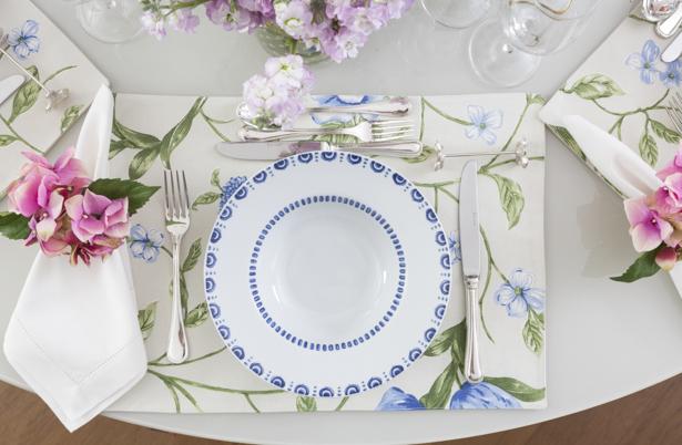 mesa posta com coleção Azure