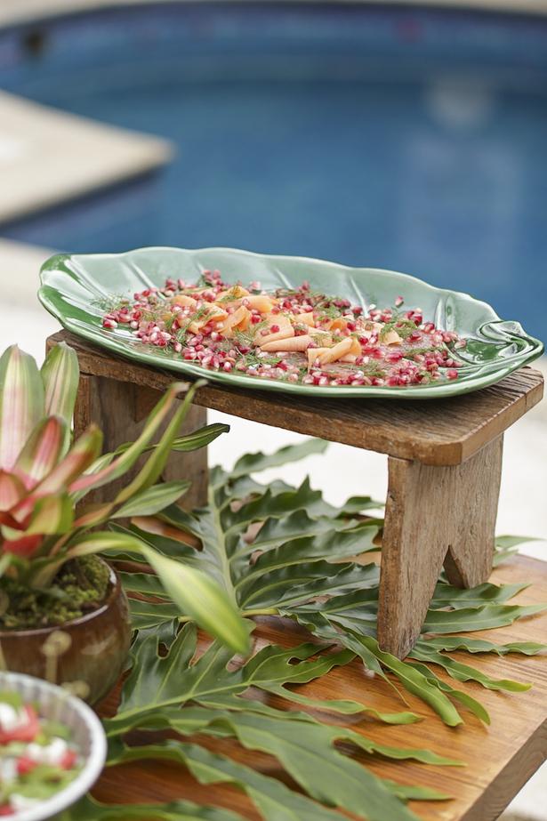 pratos tropicais para o verão