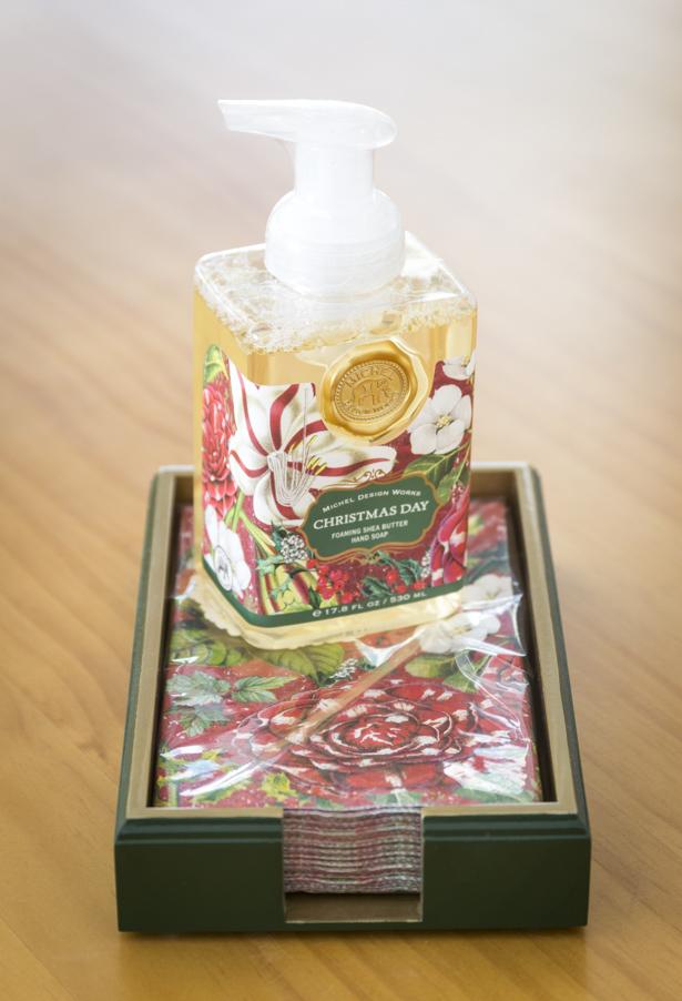 sabonete líquidos presentes de Natal
