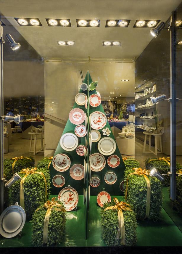 louças para o Natal Vista Alegre