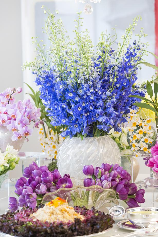 flores coloridos em muranos theodora home