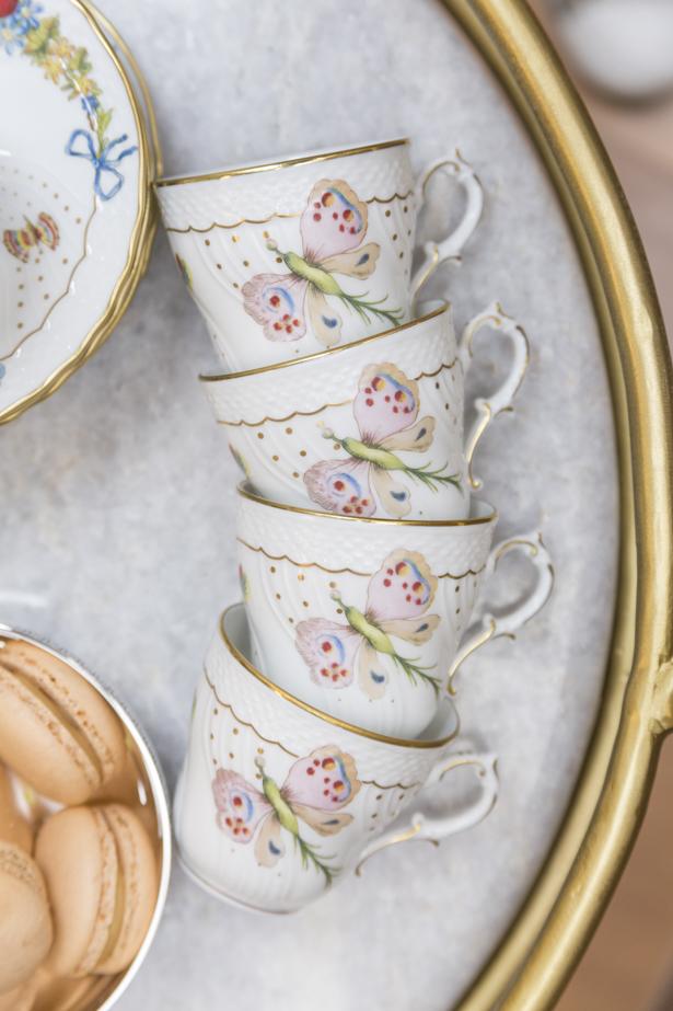 xícara da coleção Farfalle Theodora Home