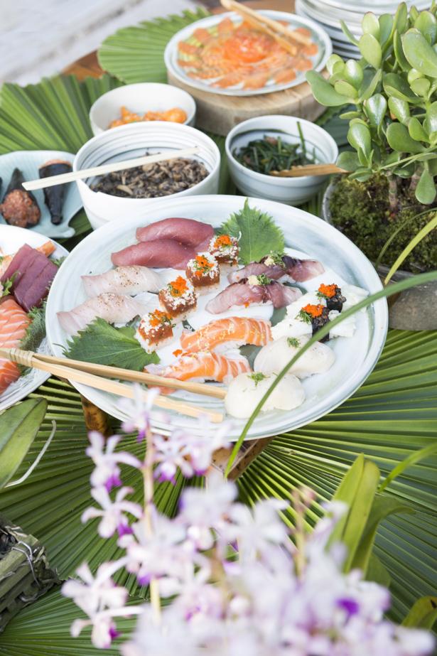 jantar japonês em casa com menu nakka