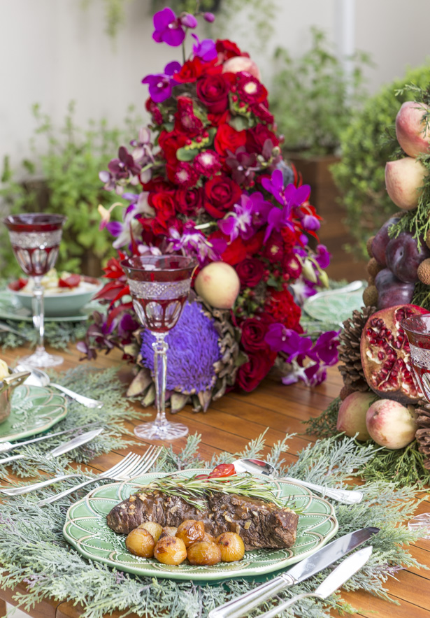 ceia de Natal Vila de Sintra com carne assada