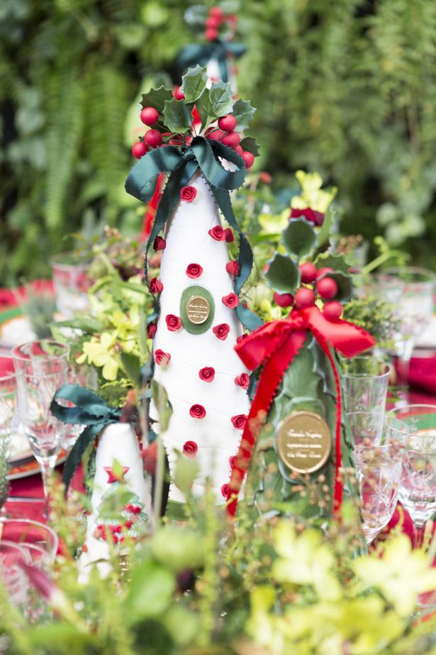 topiarias de chocolates em formato de árvore de Natal feitos pela Isabella Suplicy