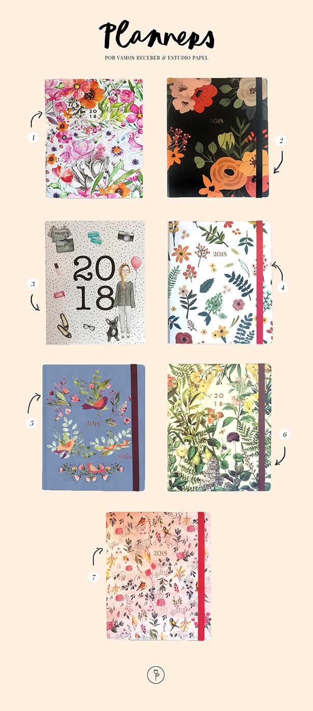 planares com estampa floral estudio papel