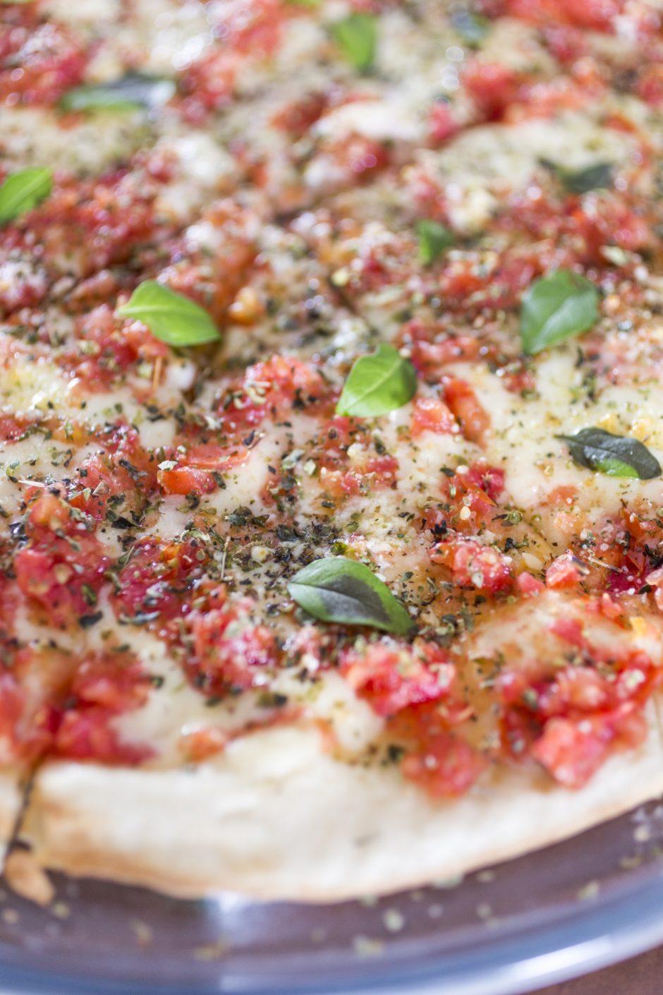 Pizza de marguerita Buffet Felíssimo