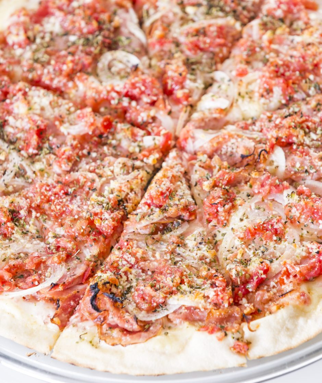 Pizza de calabresa Buffet Felíssimo