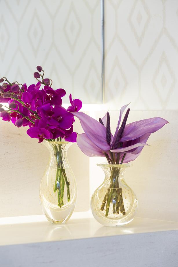 dupla de vasos transparentes para decorar