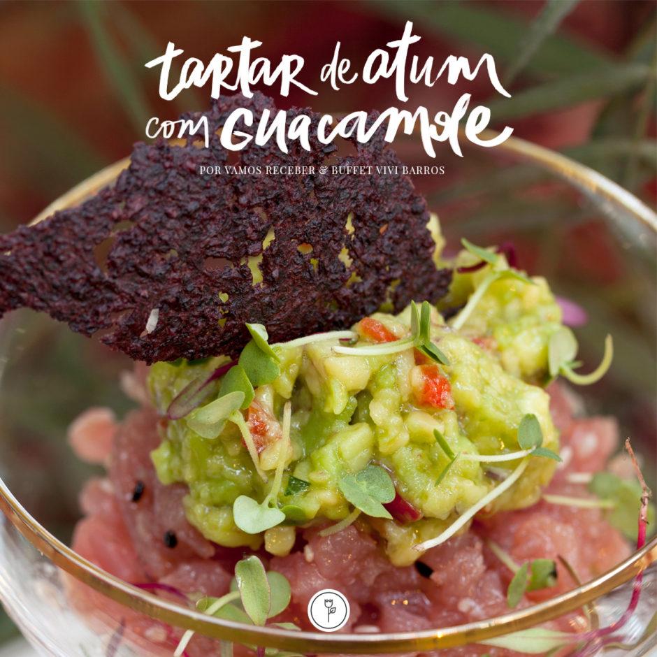 tartar de atum com guacamole vivi barros