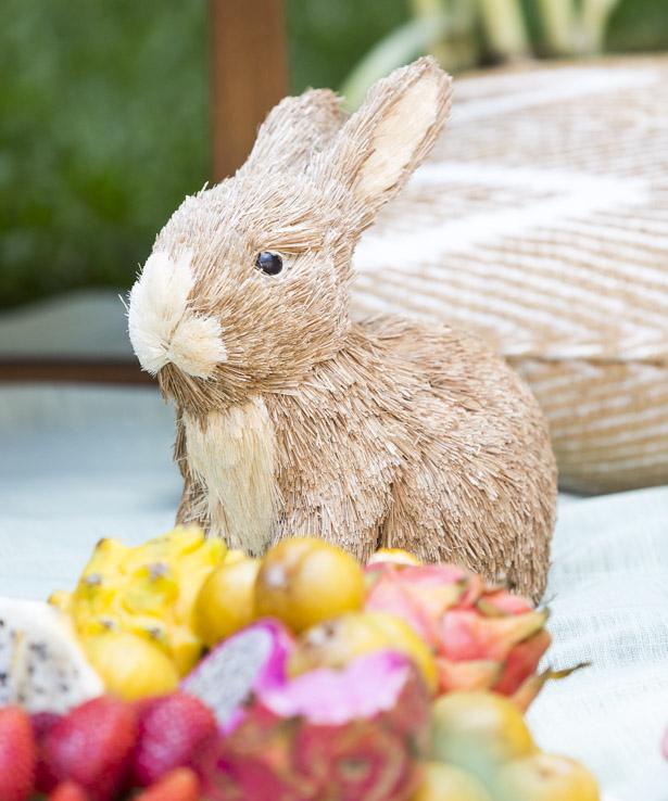 coelho de Páscoa rústico Theodora Home