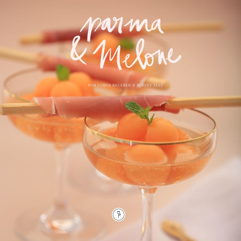 receita de aperitivo drink parma e melone buffet zest