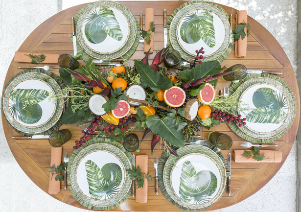 mesa de feijoada