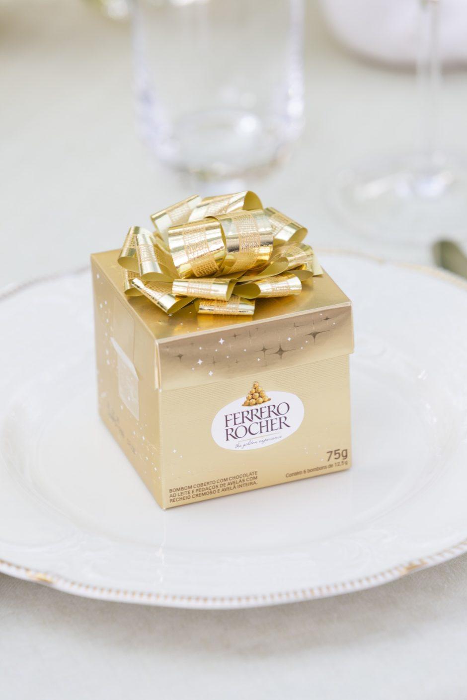 presentes de Páscoa e bombons Ferrero Rocher