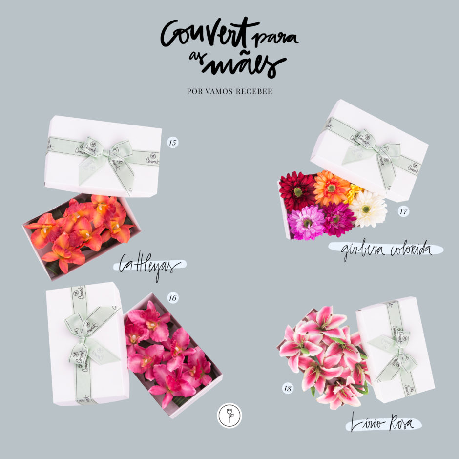 presentes para o Dia das Mães porta-guardanapos de flores