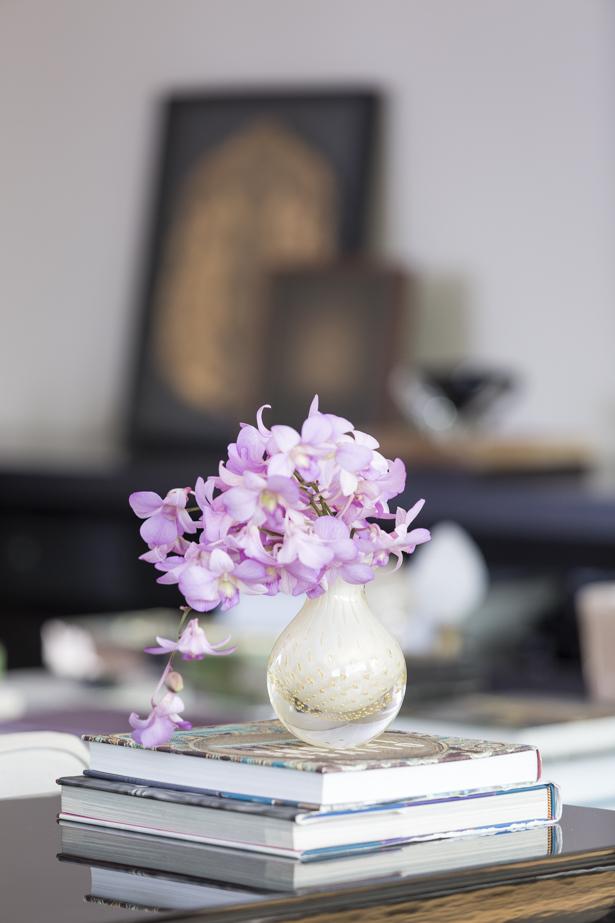 flores cristais cá d'oro