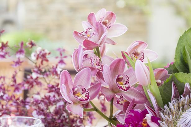 arranjos florais com flores rosas dia das mães