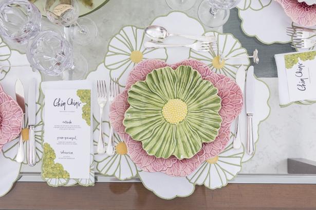 almoço de aniversário com louça Maria Flor da Fleur