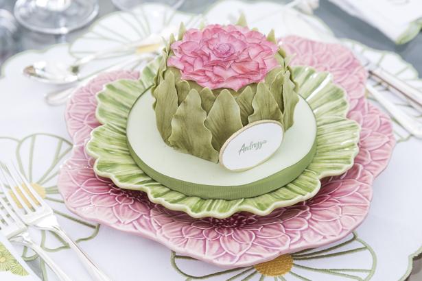 mini bolo com flores Piece of Cake