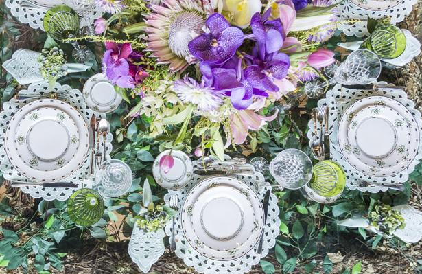 mesa posta de inspiração para o Dia das Mães na Jou Jou