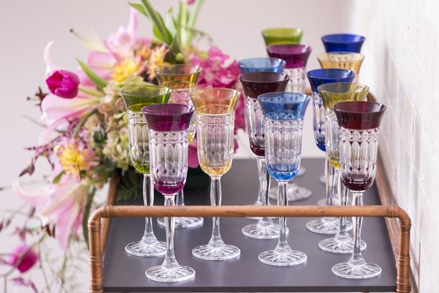 taças de espumante cristal