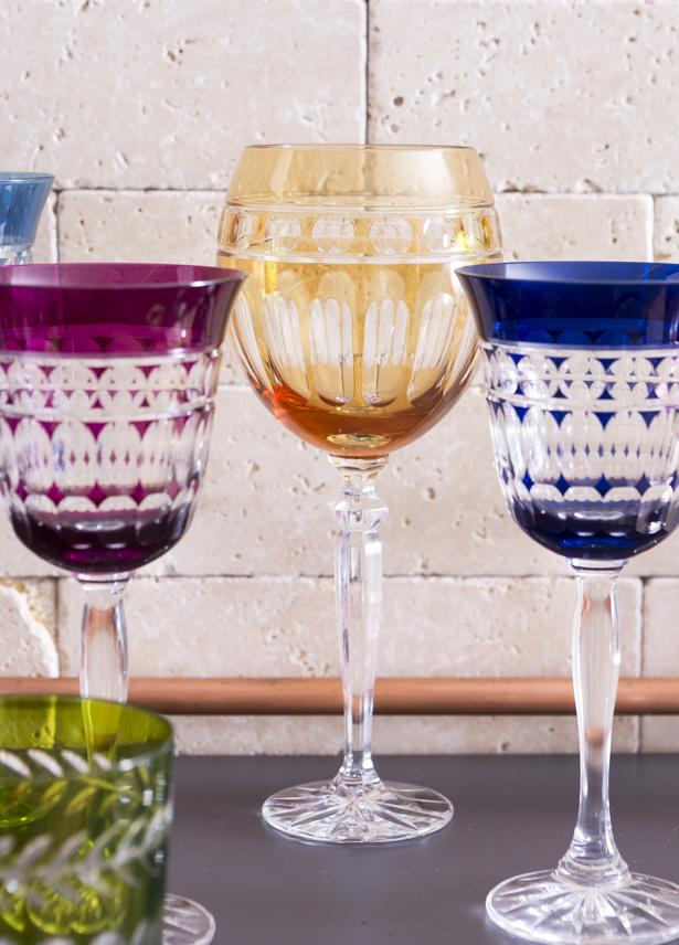 taças para bebidas variadas