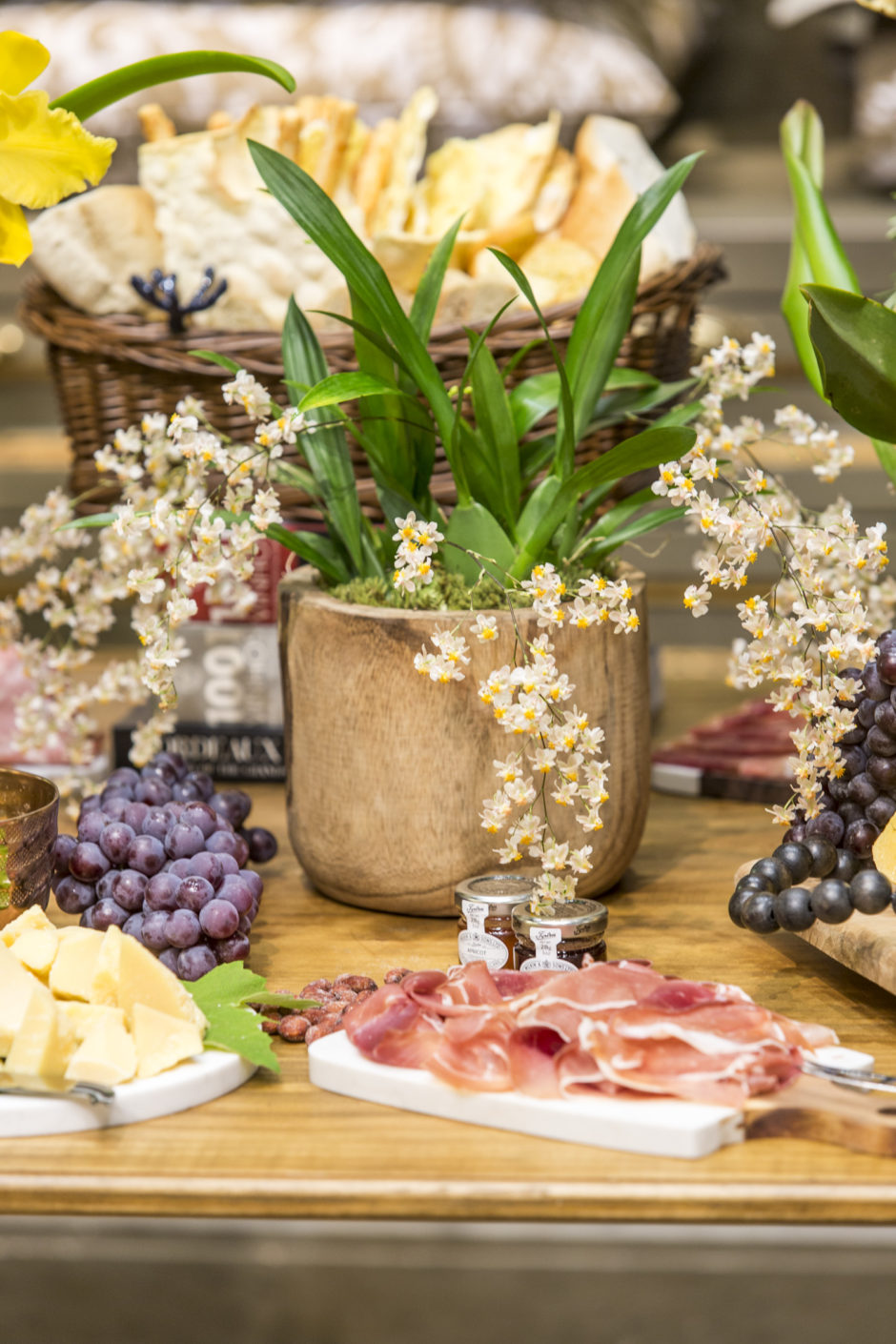 mesa de aperitivos grecco coppola