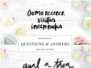 Retrospectiva 2018: Questions & Answers
